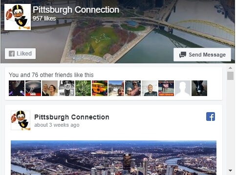 SSL Duck resumes that connect facebook page Pittsburgh Connection