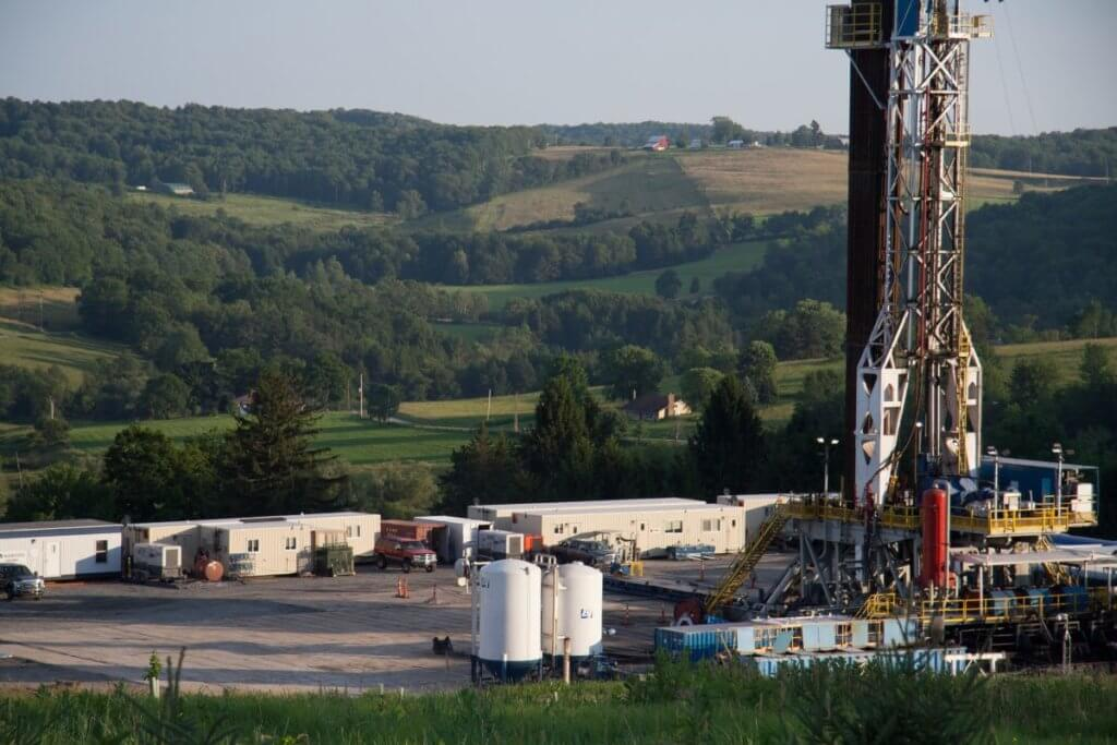 SSL Duck resumes that connect at oil and gas rig in Pennsylvania